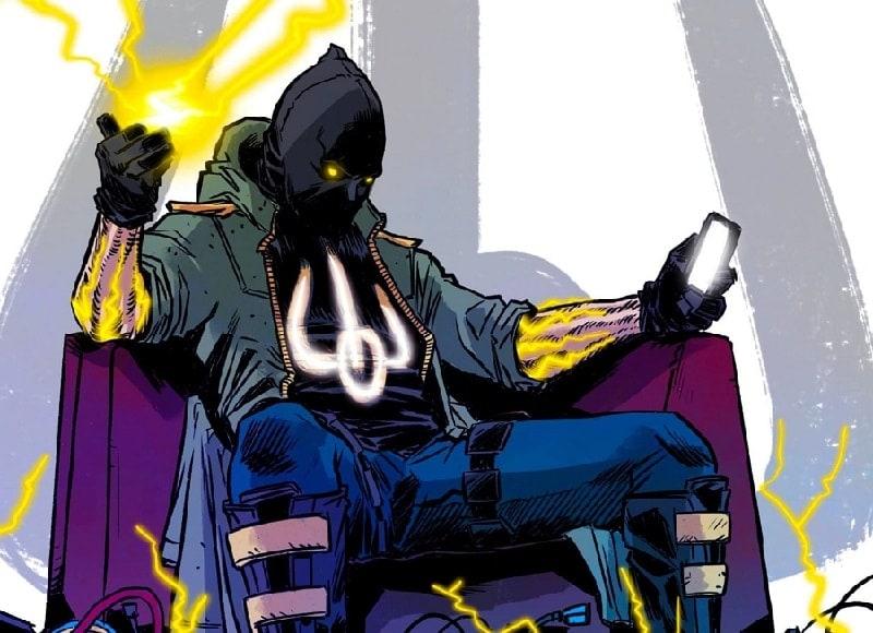 """ARK-комікс: обкладинка першого випуску мальсторії """"Ніхто"""""""