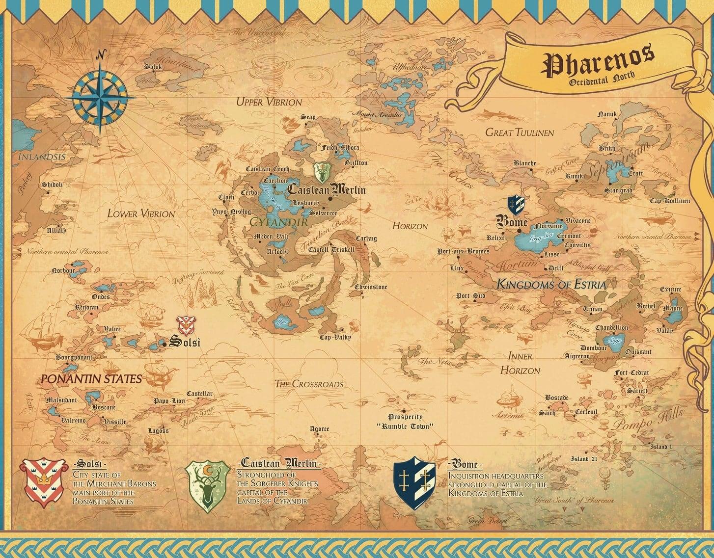 Радіант мапа