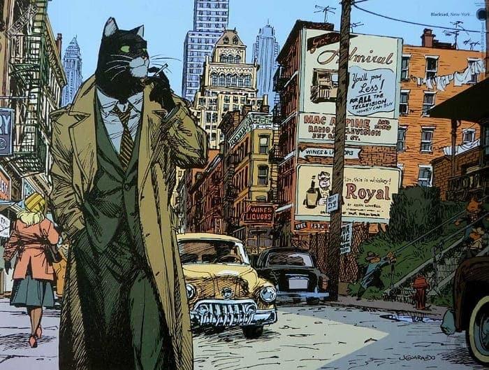 HeavyUA: Блексед. Будні кота-детектива у Місті Гріхів